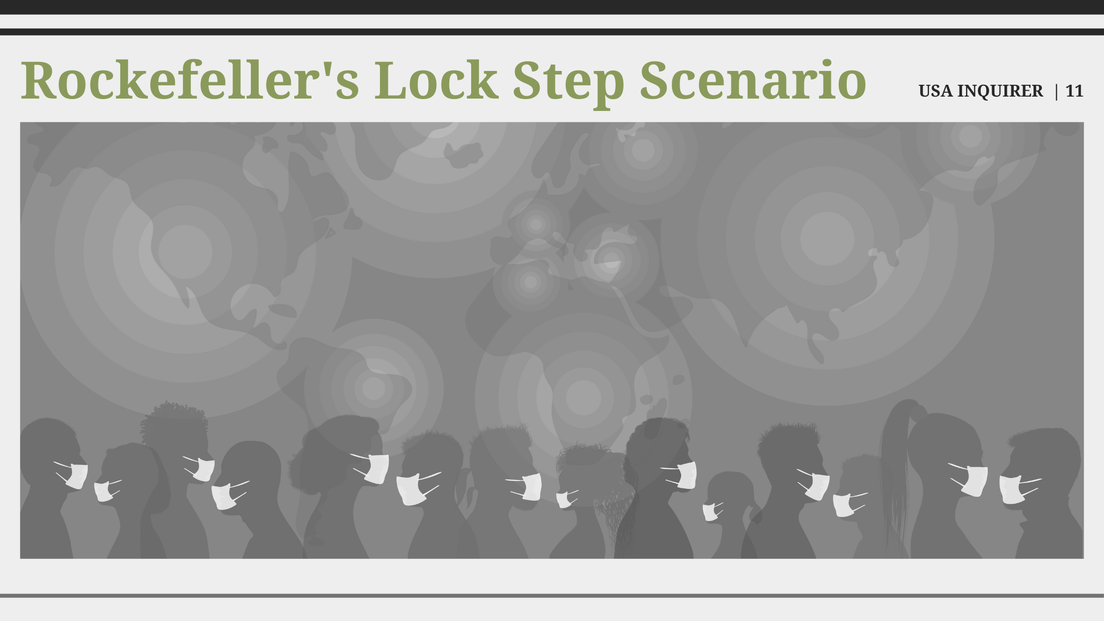 Rockefeller's 2010 'Lock Step' Strategizes Government Response to Pandemic